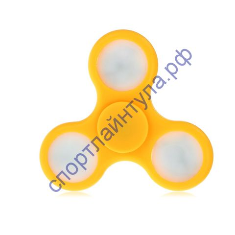 Fidget Spinner LED light Yellow