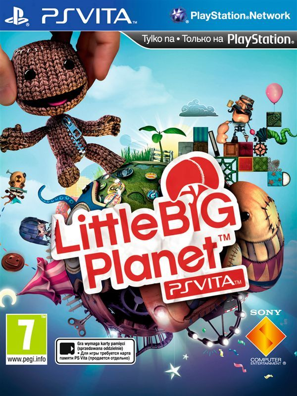 Игра Little Big Planet (PS VITA)