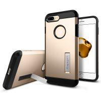 Чехол Spigen Tough Armor для iPhone 7 Plus золотой