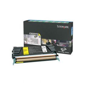 C5220YS Картридж LEXMARK жёлтый, оригинальный, лазерный