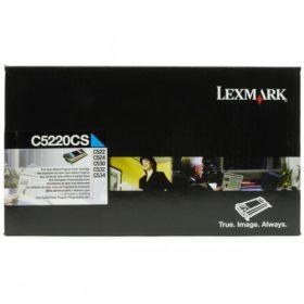 C5220CS Картридж для принтера LEXMARK  голубой, оригинальный, лазерный