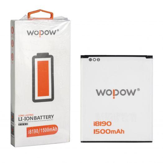 "Аккумулятор для Samsung S3 mini 8190 ""Wopow"""