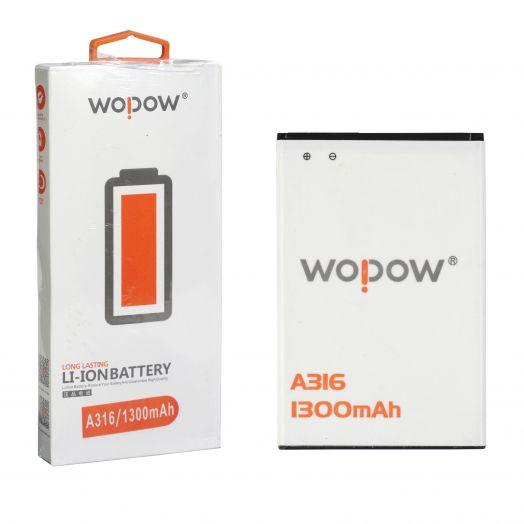 "Аккумулятор для Lenovo A316 ""Wopow"""