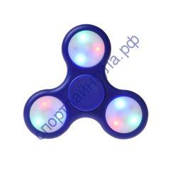 Fidget Spinner LED light Blue