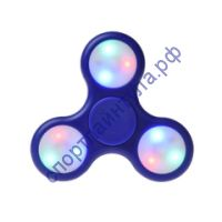 Fidget Spinner LED light Blue