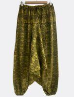 Мужские хлопковые штаны афгани (алладины) с символами ОМ, Интернет магазин СПб