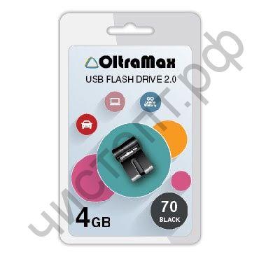 флэш-карта OltraMax 4GB 70 чёрный