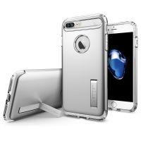Чехол Spigen Slim Armor для iPhone 8/7 Plus (5.5) серебристый