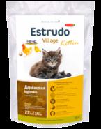 Porcelan Estrudo Village Kitten Деревенская курочка для котят, беременных и лактирующих кошек (400 г)