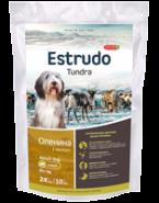 Porcelan Estrudo Tundra Корм для взрослых собак крупных пород с чувствительным пищеварением (1 кг)