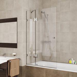 Стеклянная шторка для ванной Ambi 800