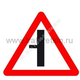 2.3.3 - Примыкание второстепенной дороги