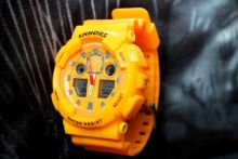 Часы C-Shock SHHORS (желтые)