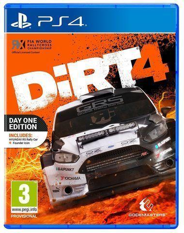 Игра Dirt 4 (PS4)