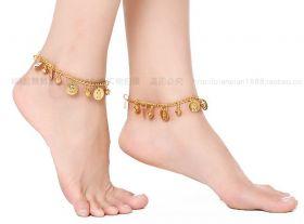 Браслет на ногу для восточных танцев (пара)