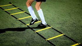 Координационная футбольная лестница для тренировок 8 метров
