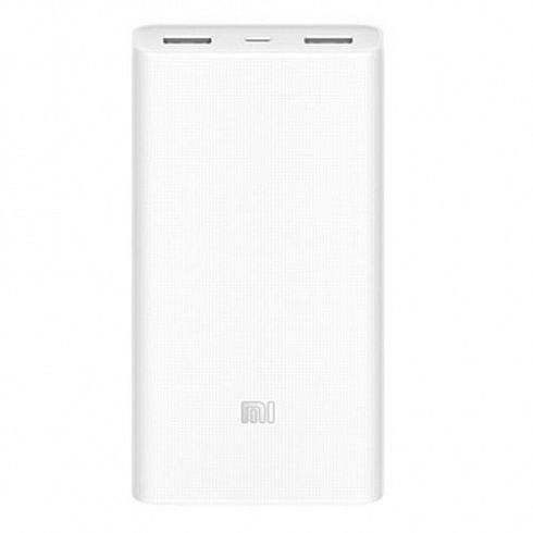 Повер банк Xiaomi Mi Power Bank 2C 20000 мАч белый