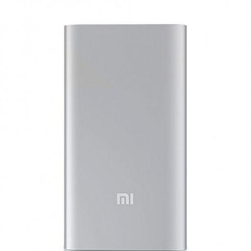 Повер банк Xiaomi Mi Power Bank 5000 мАч серебристый