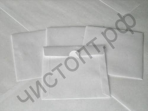 Конверт бумажный для CD,DVD диска без окна без клея БЕЛЫЙ (50)