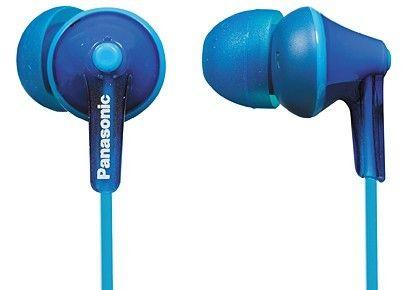 Наушники Panasonic RP-HJE125E-K голубые