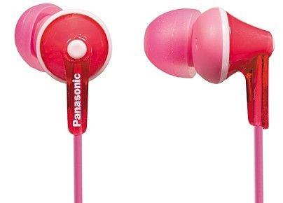 Наушники Panasonic RP-HJE125E-K розовые