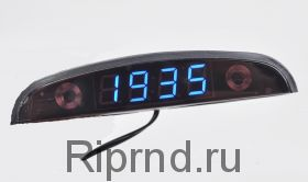 Часы 0,44 (время, дата, термометр, вольтметр)