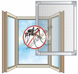 Москитные сетки на окна и двери