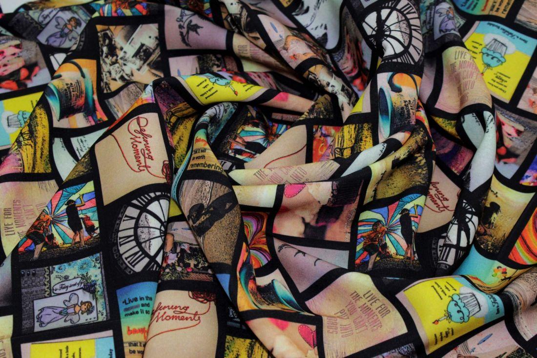 Барби креп принт VT-9129 D#9 C#3