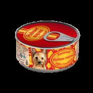 Родные корма Знатные Говядина для собак (100 г)