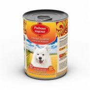 Родные корма Мясное ассорти в желе по-боярски для собак (970 г)