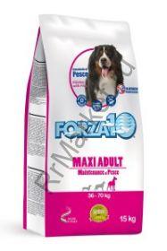 Forza10 (Форца10) Maxi Maintenance Pesce (корм для взрослых собак крупных пород, рыба) 15кг