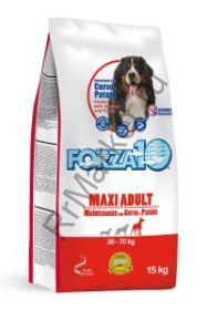 Forza10 (Форца10) Maxi Maintenance Cervo/Patate (для взрослых собак крупных пород, оленина/карт.) 15кг