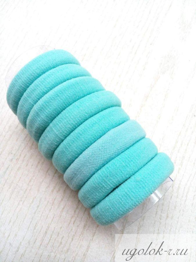 Резинка бесшовная 4 см (голубая)