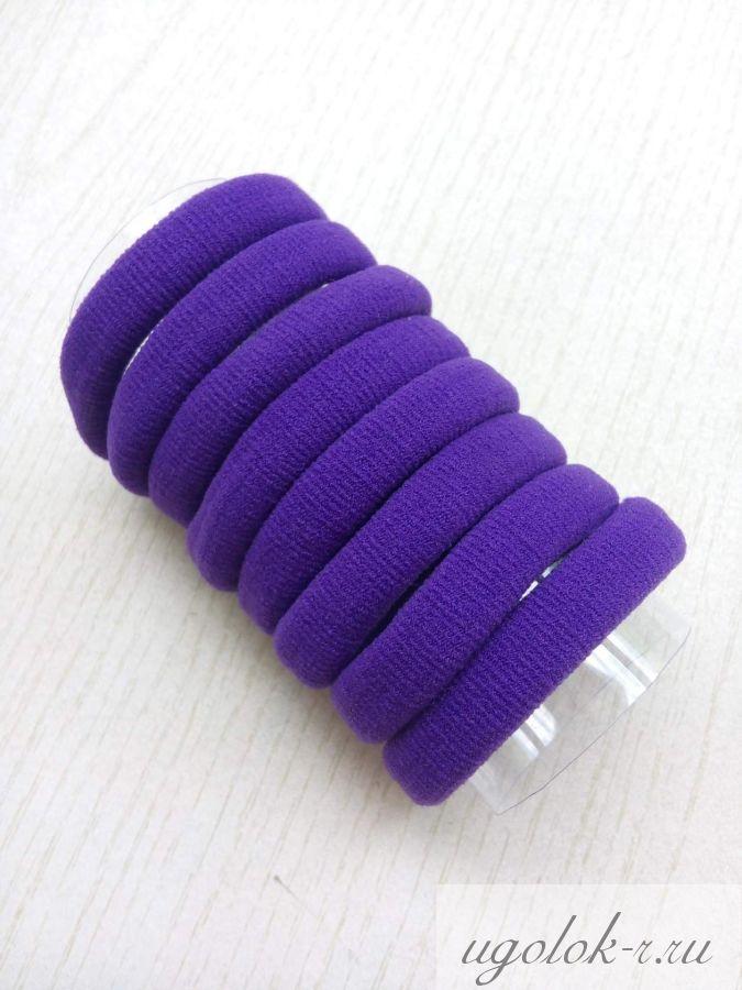 Резинка бесшовная 4 см (фиолетовая)