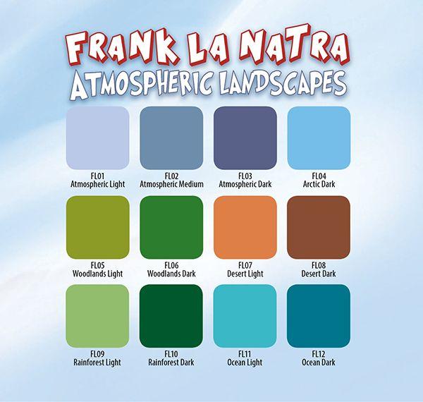 Eternal Ink Frank La Natra Atmospheric Landscapes Set