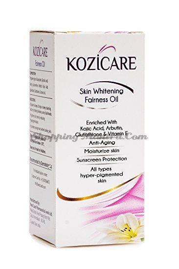 Kozicare West Coast отбеливающее масло для лица | WEST-COAST Kozicare Skin Whitening Fairness Oil