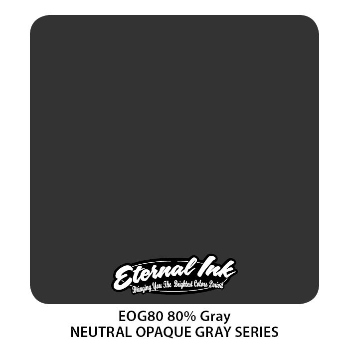 Eternal Ink Neutral Gray 80