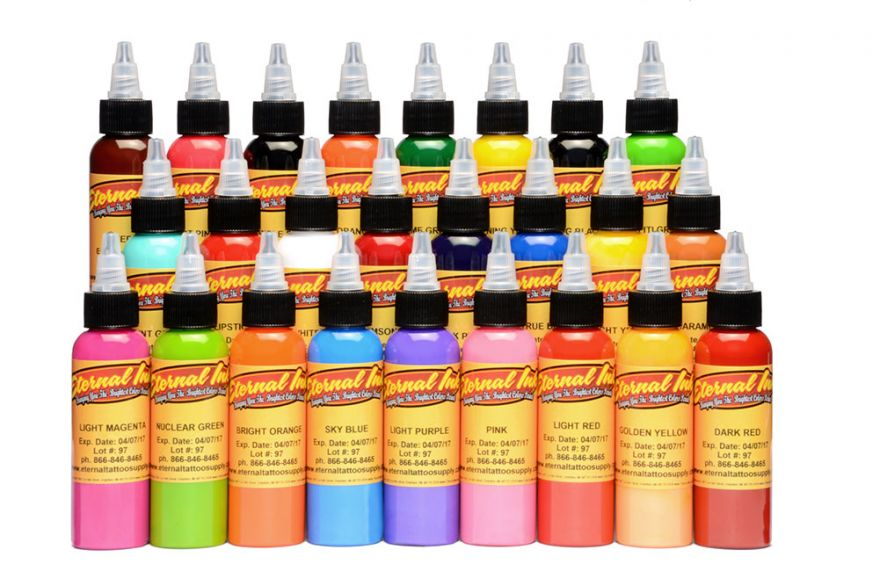 SALE Eternal Ink Top 25 set 60ml