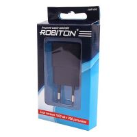 Сетевое зарядное устройство ROBITON  USB  1000 черное