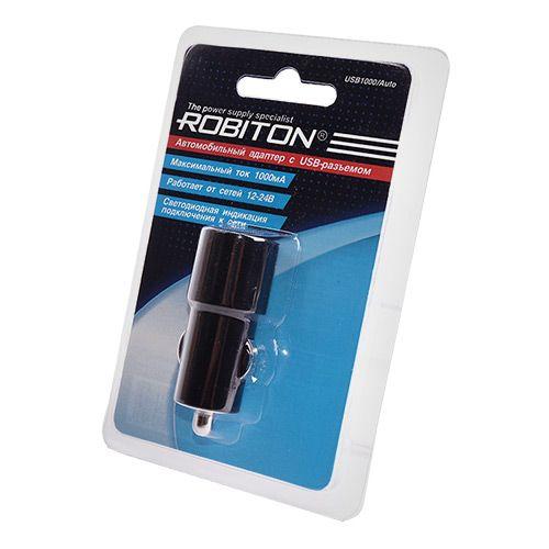 Автомобильное зарядное устройство ROBITON USB1000 Auto