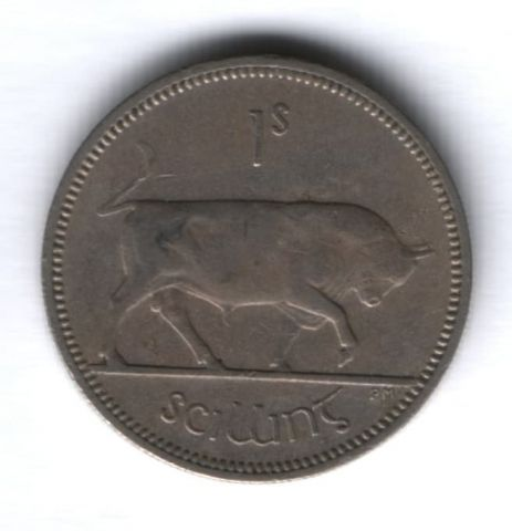 1 шиллинг 1959 г. Ирландия