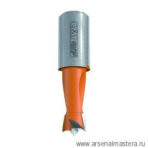 CMT 393.080.12 Сверло HW для присадочного станка 8x38,5x Z2/2 S10x18 LH