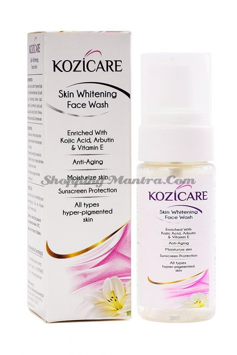 Kozicare West Coast отбеливающая пенка для умывания | WEST-COAST Kozicare Skin Whitening Foaming Facewash