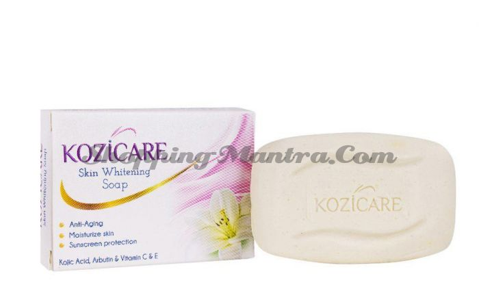 Kozicare West Coast отбеливающее мыло | WEST-COAST Kozicare Skin Whitening Soap