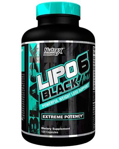 NUTREX Lipo 6 Black Hers 120капс. скл2 1-2дня