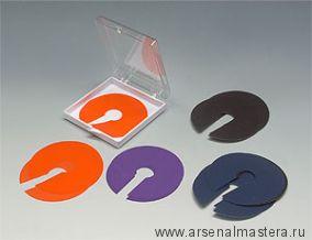 Шаблоны пластиковые 14 шт DADO Veritas 0.1 / 0.5 мм  05J13.01 М00003574