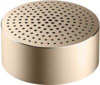 Портативная Bluetooth колонка Xiaomi Mi Portable Round Box золотая