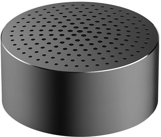 Портативная Bluetooth колонка Xiaomi Mi Portable Round Box серая