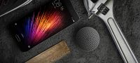 Bluetooth колонка Xiaomi Mi Portable Round Box серая