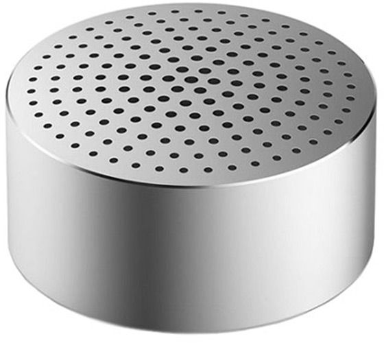 Портативная Bluetooth колонка Xiaomi Mi Portable Round Box серебристая